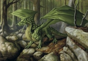 10 dragon verde