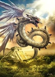 16 dragones mesoamericanos