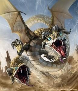 28 dragon amphisbaena