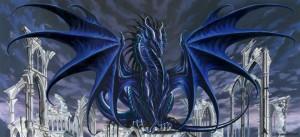9 dragon azul hielo